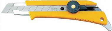 Cuttermesser B.18mm m.Feststellrad  m.Farbdoenöffner OLFA