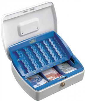 Geldkassette Office-Line 2307 H. 75mm  B. 330mm T. 235mm pulverbeschichtet