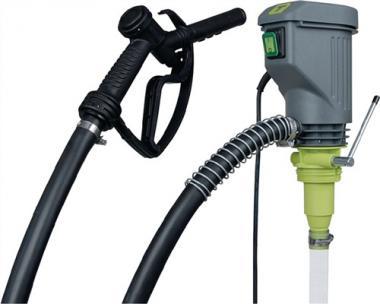Elektropumpe 40l/min f.Diesel/Heizöl  m.Standard-Zapfventil Ansaugstufe
