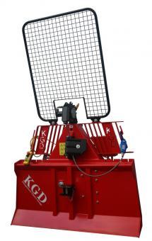 Königswieser Funkseilwinde 5.5 to. TELE-RADIO-Funk  hydraulisch, Seil 70m/11mm, Seilausstoß