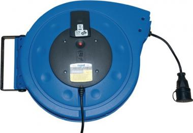 Kabelaufroller Kabellänge  25 m Kabel H05VV-F3G-1,5 mm2