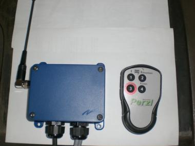 Funkanlage TeleRadio 4-Kanal; steckbar  für Forstseilwinden FSW 55H/65H/85H