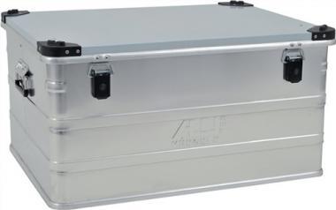 Aluminiumbox 157l 782X585X412mm m.Gummidichtung  8,2kg m.Stapelecken
