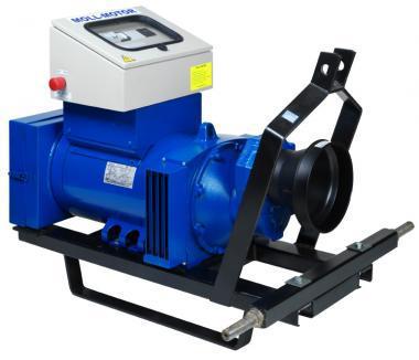 ZG-140/27 Zapfwellenstromerzeuger  27 KVA, 21.6 KW, compound geregelt,Luftfilter IP45