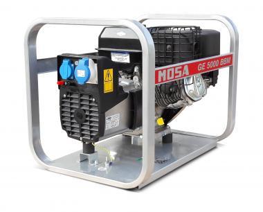 GE 5000 BBM Mosa Stromerzeuger  4 kVA, 230 V, Briggs&Stratton Benzinmotor