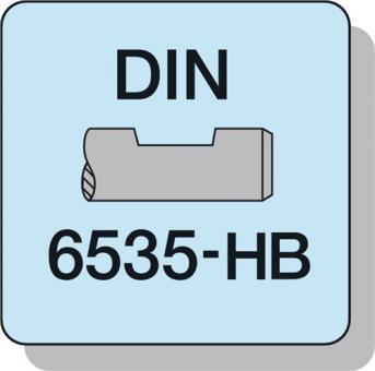 Schaftfräser  DIN 6527 L HPC D.5mm