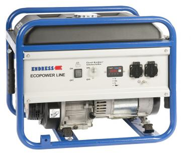 Stromerzeuger ESE 3000 BS  Benzin 2.5 kVA/230V/ 10.9A