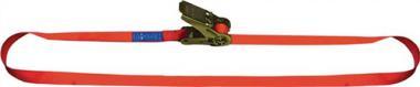 Zurrgurt Polyester einteilig mit Klemmschloss  4m 25mm Din 12195-2