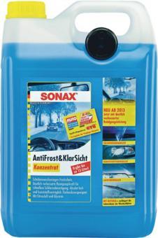 Anti Frost u. Klare Sicht Sonax 5L. Konzentrat