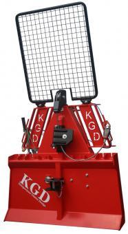 Königswieser Funkseilwinde 3.5 to. TELE-RADIO-Funk  hydraulisch, Seil 60m/9mm