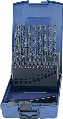 Spiralbohrersatz DIN338 Typ N 1-10mm 0,5mm