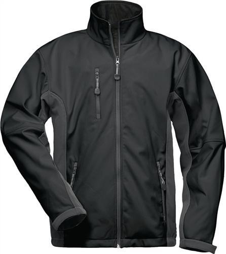 Softshell Jacke Kronos Gr.XL schwarz/grau