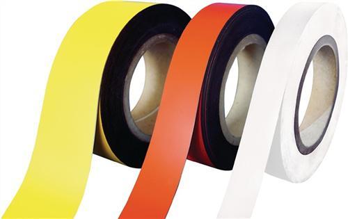 Magnetband gelb B.30mm L.10m