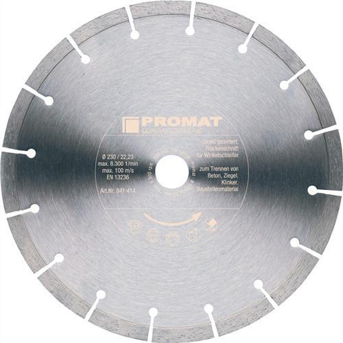 Diamanttrennscheibe D.230mm Bohrung 22,23mm