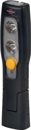 LED Akku Handleuchte 2+3LEDs 78+12Lm Li-Ion-Akku