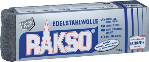 Edelstahlwolle 150g extra fein