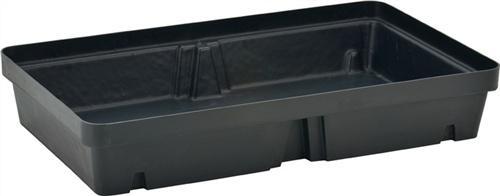 Auffangwanne PE B800xT600xH155mm o.PE Lochplatte