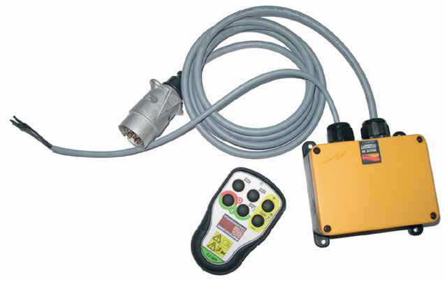 Funkanlage KGF101-TR TELERADIO mit Drucktasten