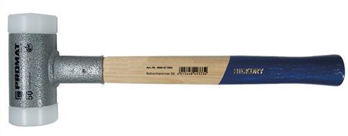 Schonhammer D.45mm 850g Nylon weiß rückschlagfrei
