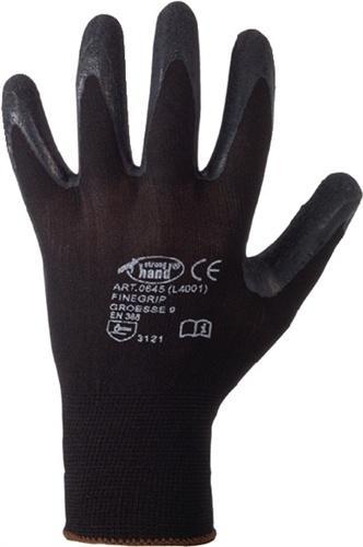 Handschuh EN 388 Kat.II Finegrip Gr.10 - 12 PA
