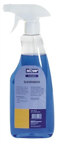 Glasreiniger 500ml Sprühflasche NOW