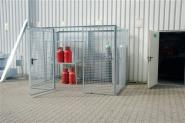 Gasflaschencontainer L.3100mmxB.2100mm