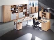 Schreibtisch B1200xT800xH680/820mm