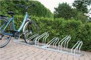 Fahrrad-Bügelparker 3er 1seitig