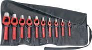Henkellocheisensatz 12tlg. Form A Loch-D.3-25mm
