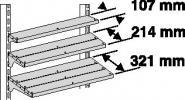 Lamellenboden B1250xT107xH30mm