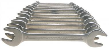 Doppelmaulschlüsselsatz SW6x7-24x27mm 10tlg.  DIN3110 PROMAT ISO3318/1085