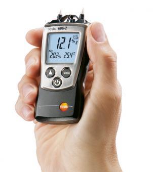 Testo pocket-line 606-2  Feuchtemessgerät für Luft- und Materialfeuchte sowie Lufttemperatur