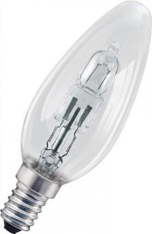 Halogenlampe 28W E14 Fassung 230V Kerzenform  dimmbar 405Lm warm weiß