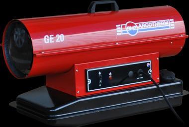 GE 20 Ölheizer  21,4 kW; 350 m³/h; ohne Kaminabzug