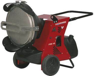Fire 45 Infarot-Öl-Heizstrahler  45,5kW, 680 m³/h