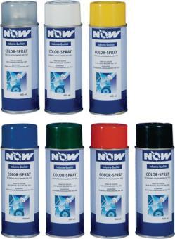 Colorspray 400ml moosgrün RAL6005 seidenmatt - 6 ST  NOW f.Metall/Holz