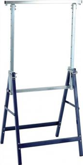 Arbeitsbock klappbar Stahl-Vierkantrohr - 2 ST  ku.-beschichtet H.820-1300mm