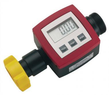 Durchflussmengenzähler f.Fasspumpen  Anschluss G1 1/4 5-90l/min