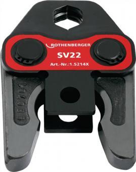 Standard Pressbacke SV 22 VARIO-PRESSBACKE  SV22 axialer Schubkraft 32-34 kN