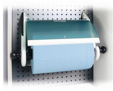 Rollenhalter für Großrollen  mit Durchmesser 250-390 mm