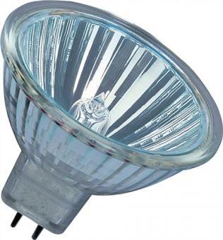 Niedervolt-Halogenlampe 35W GU5,3 Fassung  12V 550Lm warm weiß dimmbar