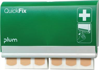 Pflasterspender QuickFix  233x133x330mm Plum m. Schlüssel