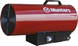KID 40M Gasheizer  43.5 kW; 850 m³/h; manuelle Zündung