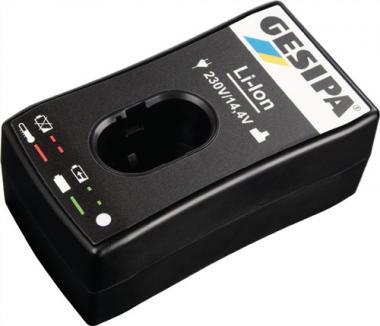 Schnellladegerät 230 / 14,4 V für Li-Ion  Akkus GESIPA