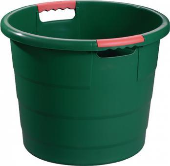 Kunststoffbehälter 70l rund  D.550xH425mm grün