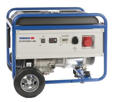Stromerzeuger ESE 6000 DBS Benzin  400V/6.25kVA/9A ; 230V/3.3kVA/14.3A