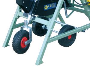 Geländerad  für Widl Kreissäge