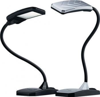 Schreibtischleuchte Ku.schwarz  m.Standfuß u.Leuchtmittel,Ausladung max.380mm LED