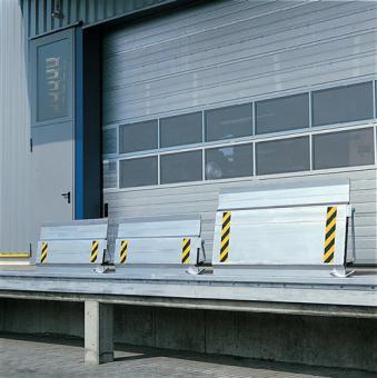 Überfahrbrücke Aluminium  L.410xB.1250mm Tragfähigkeit 4000kg