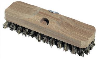 Schrubber Union L.220mm mit Gewinde ohne  Bart Holzkörper